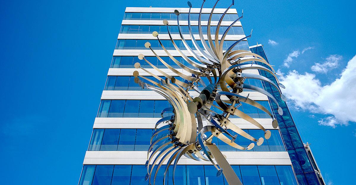 Azlon Installation Downtown Columbia